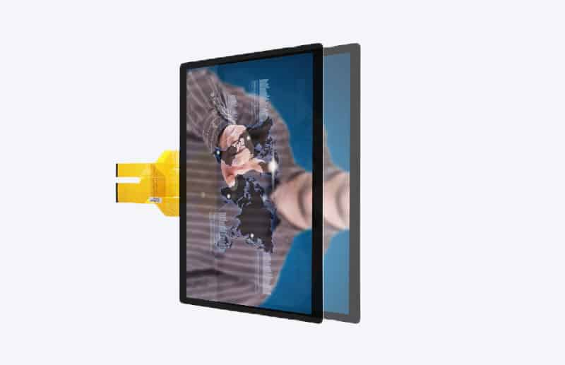 projected capacitive screen 10.4 - 65 inch support customized